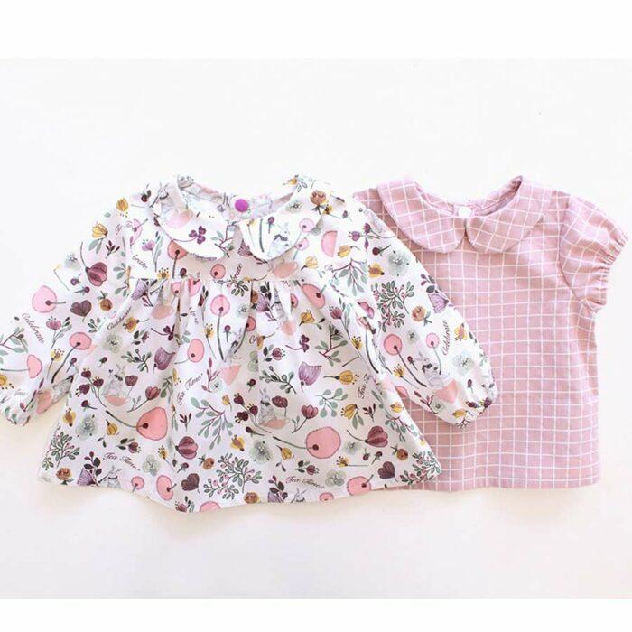 TEATIME Girl Shirt sewing pattern Puperita